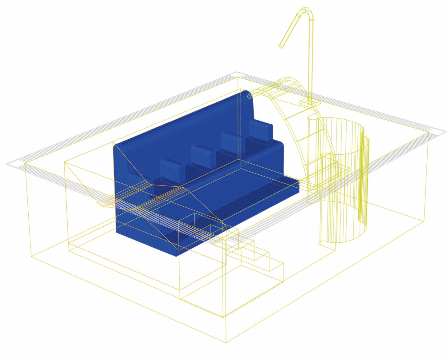 los asientos perforados con láser y electrosoldados aportan aire a través de sus difusores.