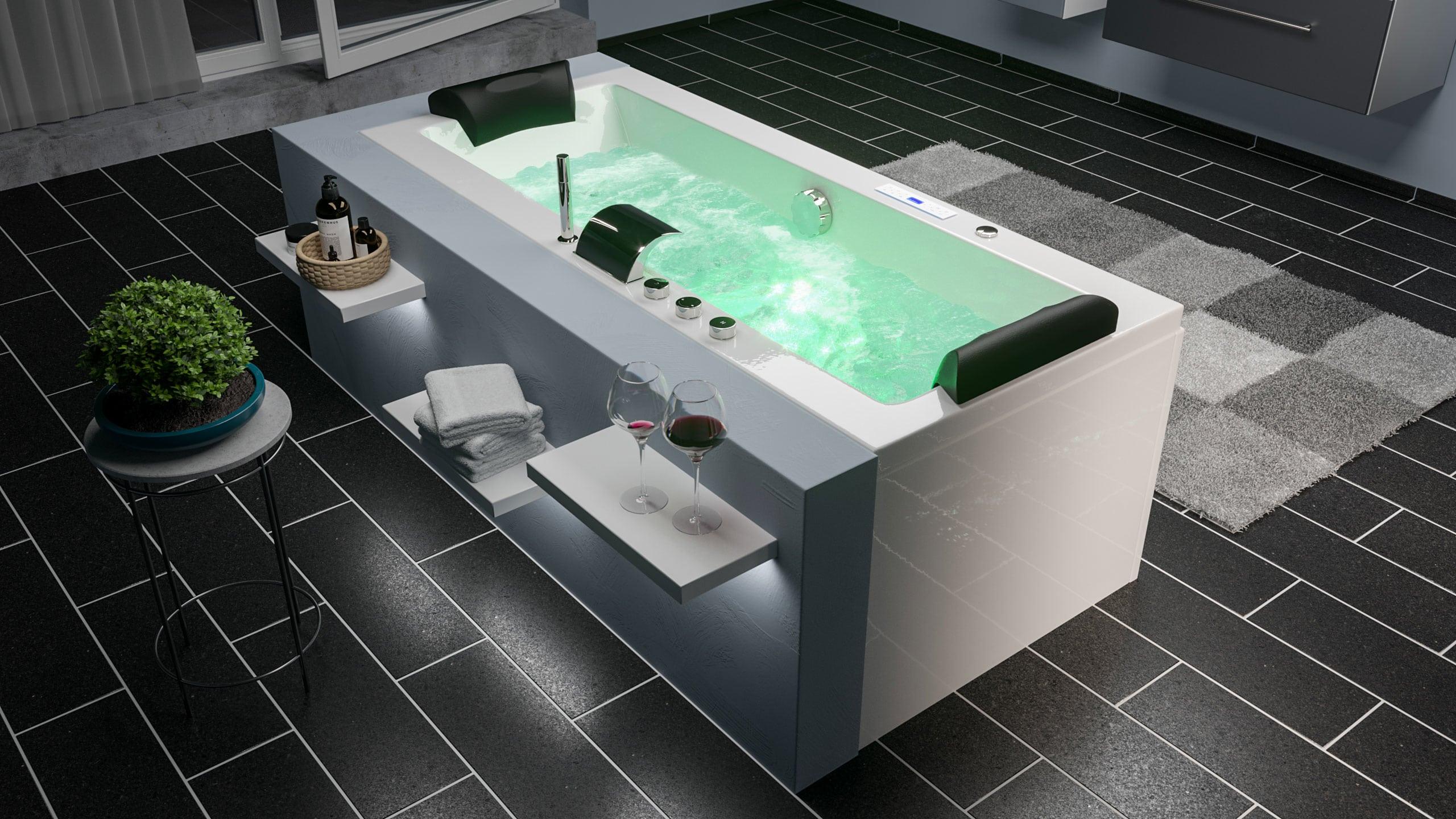 Para el baño principal ¿Una bañera hidromasaje?